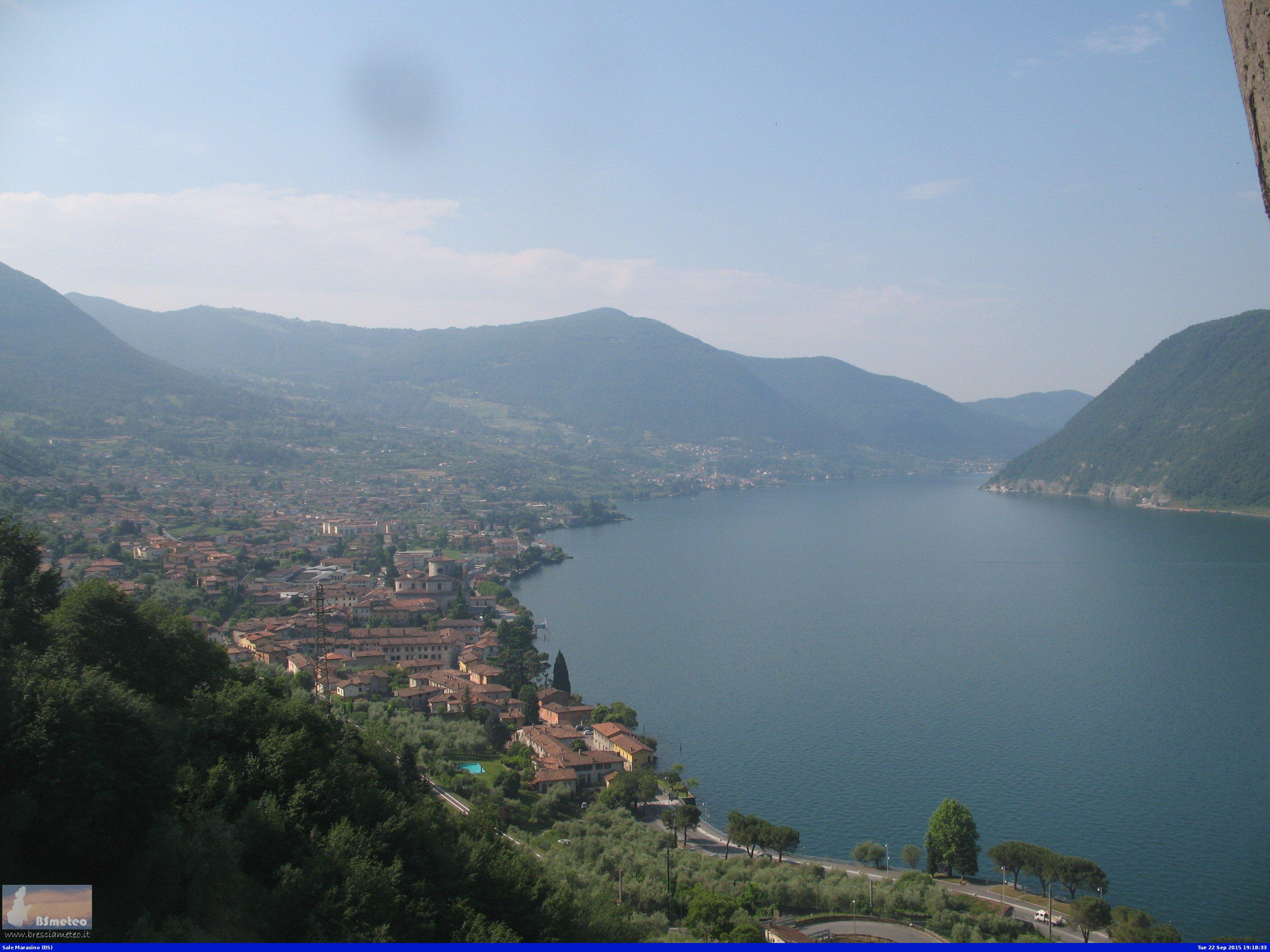 Webcam Sale Marasino e Lago Iseo BS